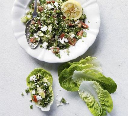 Kale tabbouleh