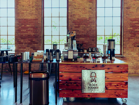 Coffee Talk: How To Incorporate An Impressive Coffee Bar Into Your Wedding Reception
