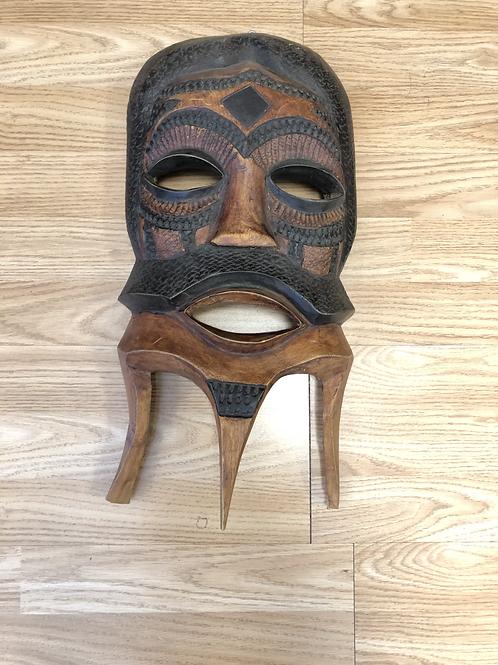 Black & Brown Mask