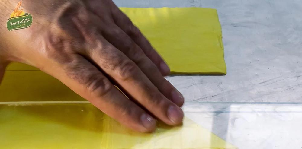 Σαμπιγιέ μερίδας - Χρυσό Τρίγωνο με κρέμα