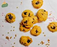 Cookies με φυστικοβούτυρο και σοκολάτα