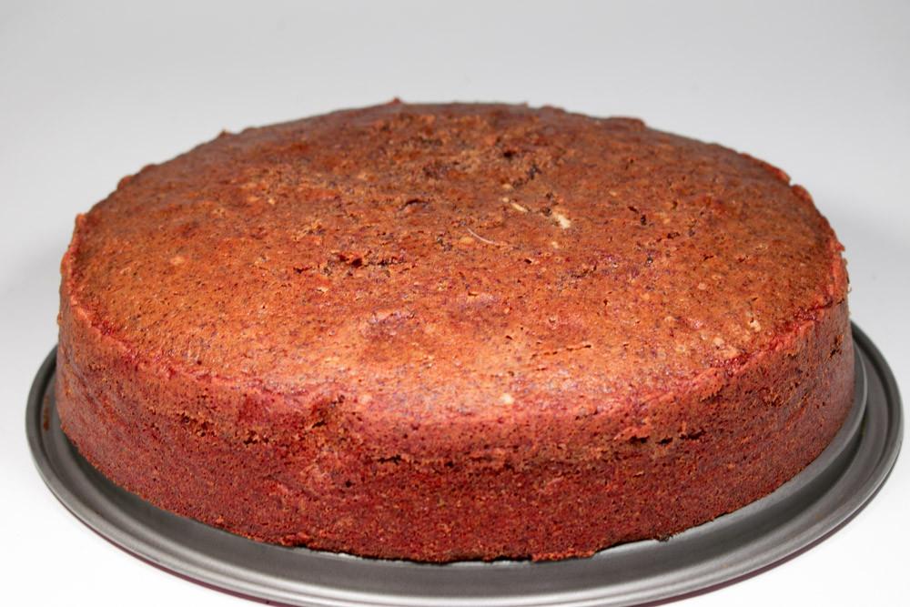 Αυθεντικό Red Velvet Cake χωρίς χρώμα και παντζάρι
