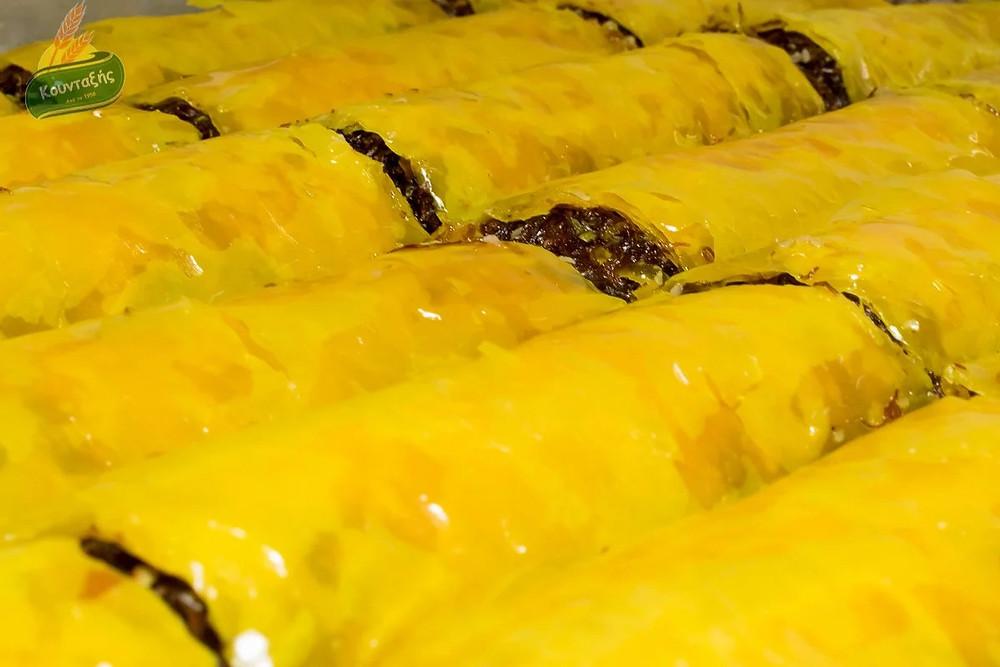 Γιαννιώτικο με Φύλλο Κίτρινο και Κανταΐφι με Κακάο Βελγίου