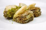 Μπακλαβαδάκια «Τα χείλη της Γόησσας» με φύλλο  (Dilber Dudağı)