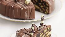 Κέικ σοκολάτας με μπισκότα Amaretto