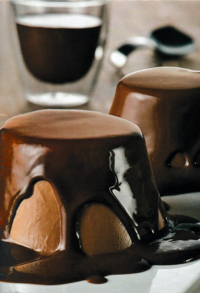 Πουτίγκες σοκολάτας