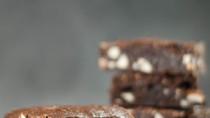 Brownies σοκολάτας με αμύγδαλα