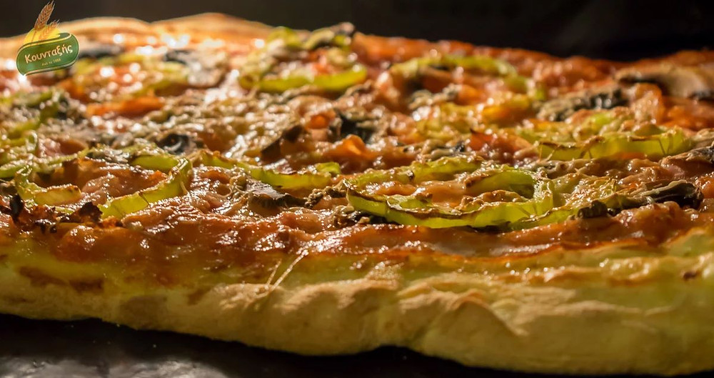 Έξτρα Τραγανή Ζύμη Πίτσας