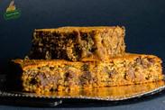 """Κέικ/""""Σουφλέ"""" με ταχίνι ολικής άλεσης, μέλι, Δίκοκκο αλεύρι ολικής άλεσης-Vegan"""