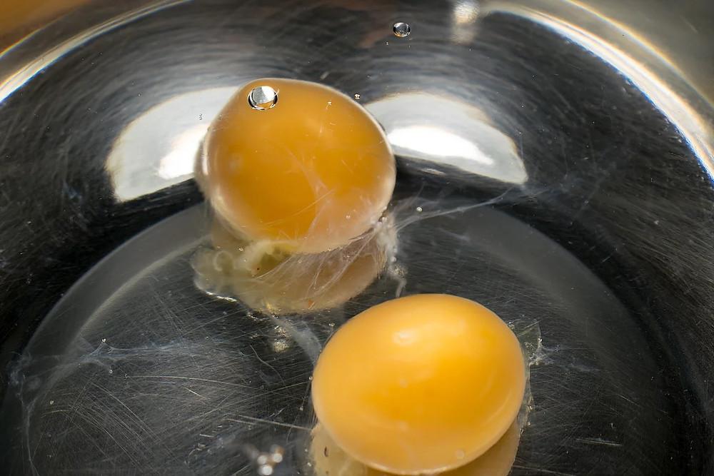 Μπακάλ Ρεβανί αυγά νερό