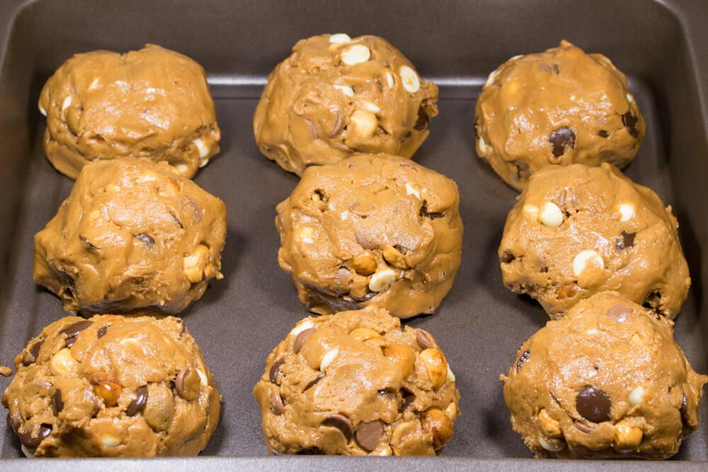 Mega Cookies τριπλής σοκολάτας
