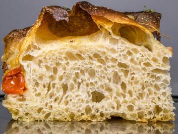Φοκάτσια (Focaccia) με φυσικό προζύμι