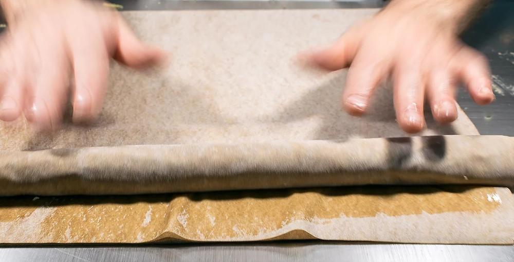 Κιμαδόπιτα με φύλλο πίτας ολικής άλεσης