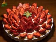 Τάρτα Φράουλα με κρέμα ζαχαροπλαστικής