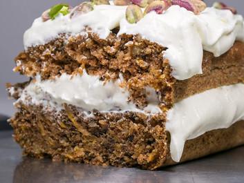 Κέικ καρότου με frosting του Κωνσταντίνου Συμεωνίδη