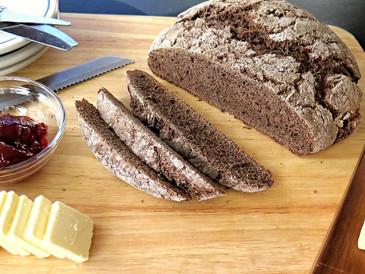 Ψωμί Σικάλεως με Προζύμι και Μαύρη Μπύρα