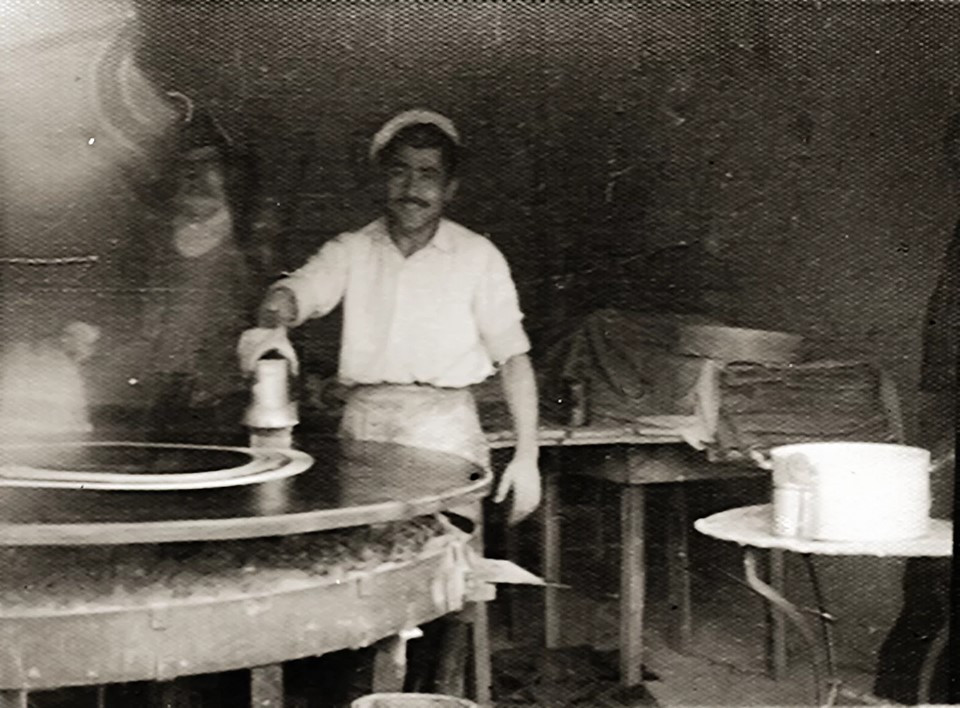Δημήτρης Κουνταξής κανταΐφι 1958