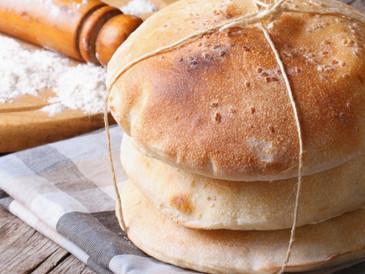 Αραβική Πίτα (الخبز العربي)