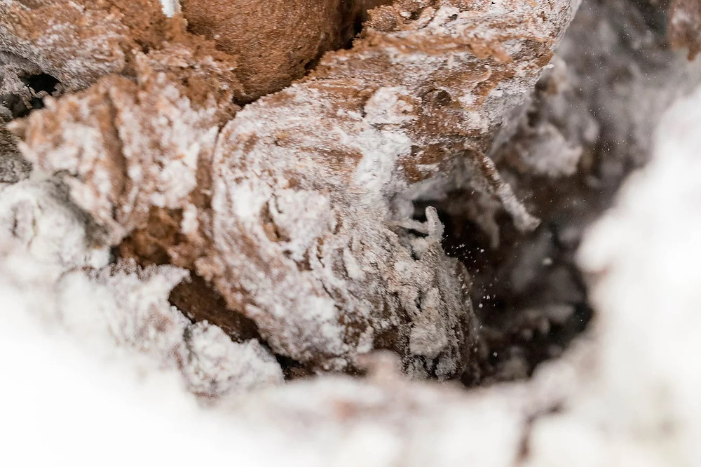 Κρουασάν-Μπριός βουτύρου σοκολάτας με κακάο