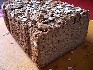 Ψωμί Προζυμένιο με νιφάδες Βρώμης