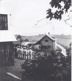 FF Baumgarten um 1940 (Kaufhaus Riebenba