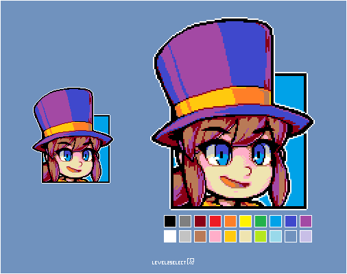 Hat in Time - Hat Kid