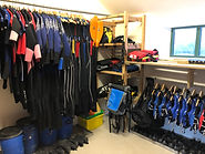 Our equipment stores