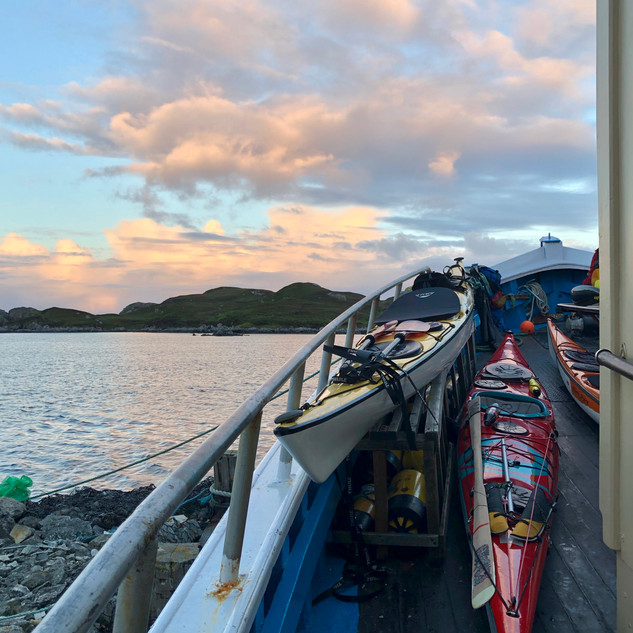 Aboard the Gaelic Rose