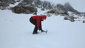 Snowcraft Skills In The Lake District