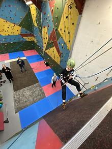 indoor rock climbing lake district