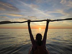 Sea kayak expedition NW Scotland