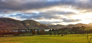 Looking across to Howtown and Fusedale across Ullswater