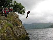 Kailpot Cliff Jump on Ullswater