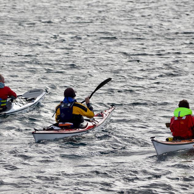 Sea Kayaking on Harris
