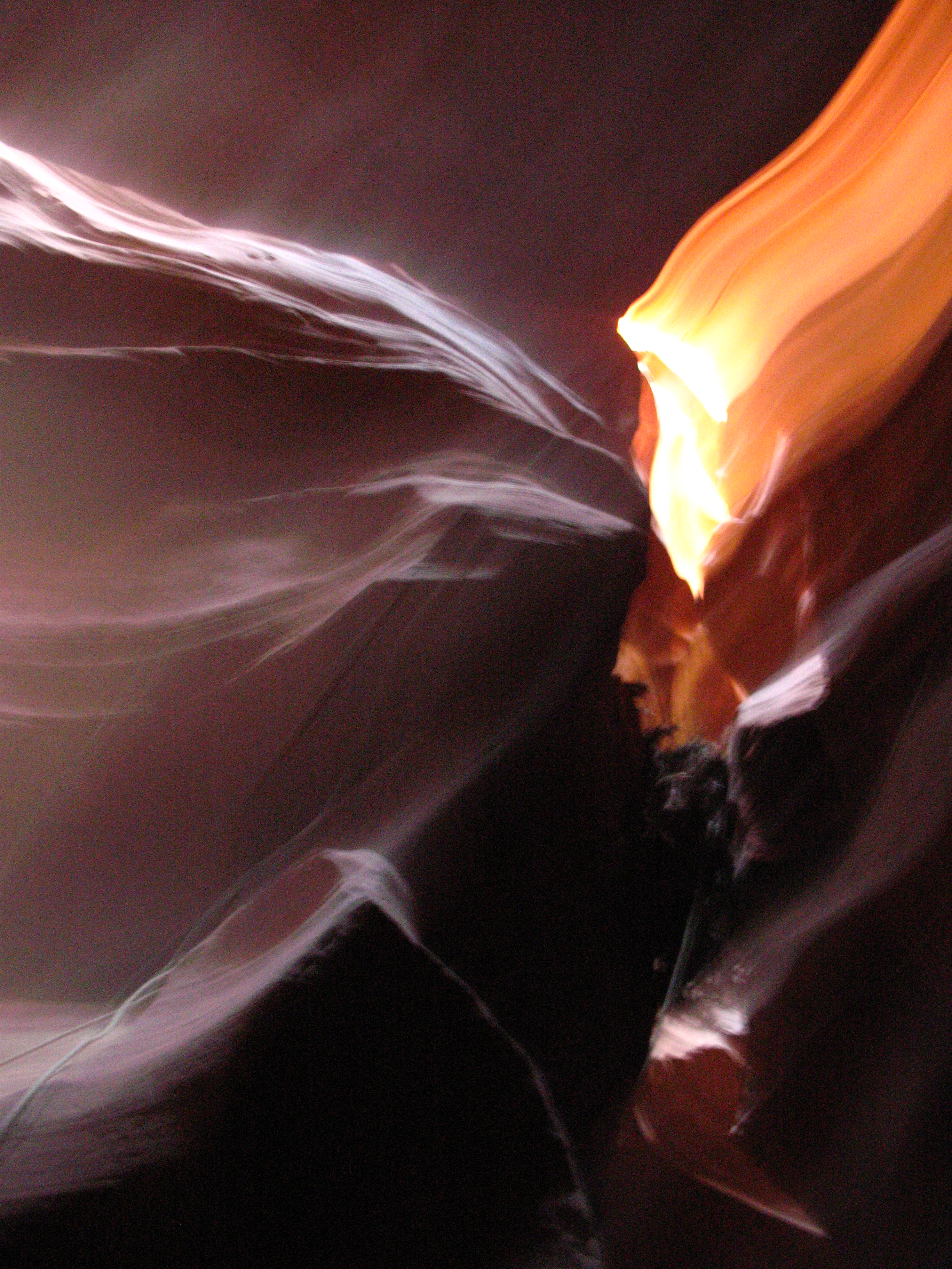 Brushed Light - Antelope Canyon