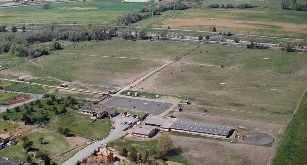 Ranch aerial