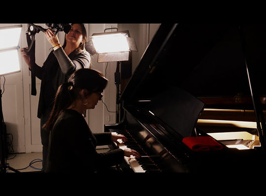 Lise vallieres et josee fortin au piano