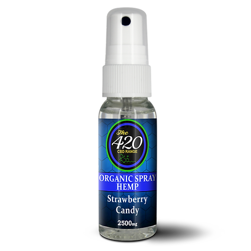 1500mg CBD Broad spectrum oral Hemp spray flav 1