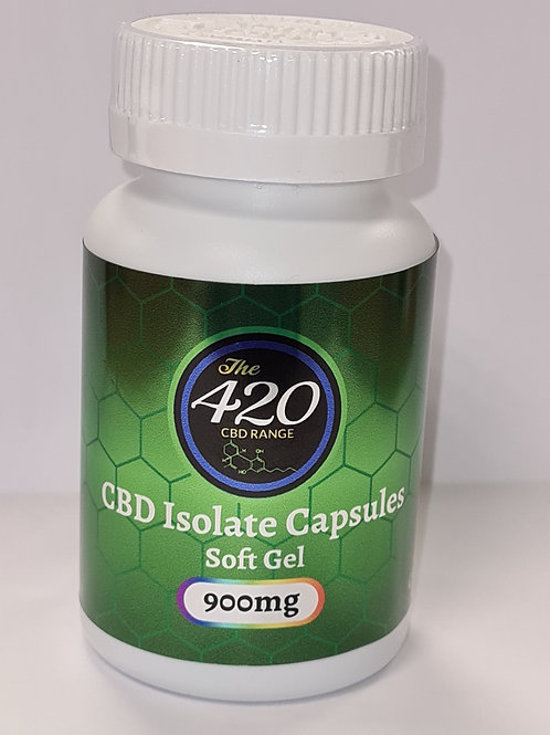 CBD Isolate Gel Capsules 900mg