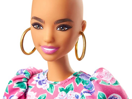 This Bald Barbie is a Big Deal