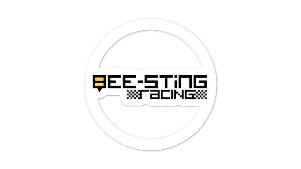 Official Bee-Sting Racing Logo Stickers
