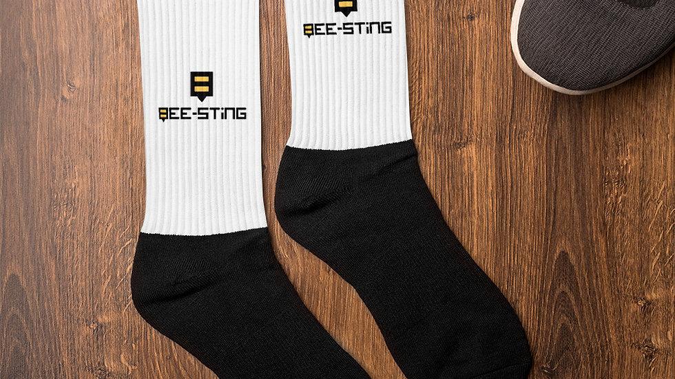 Bee-Sting Socks