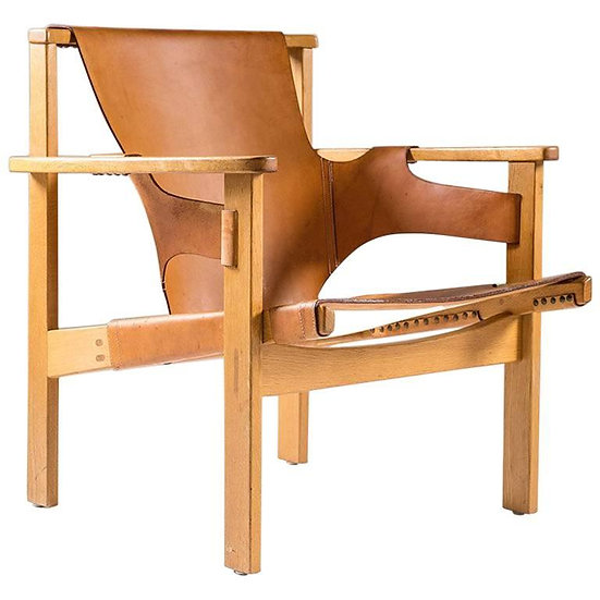 """Scandinavian Easy Chair """"Trienna"""" by Carl-Axel Acking for NK"""