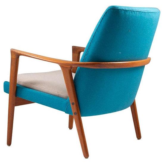 Midcentury Scandinavian Lounge Chair by Bröderna Andersson