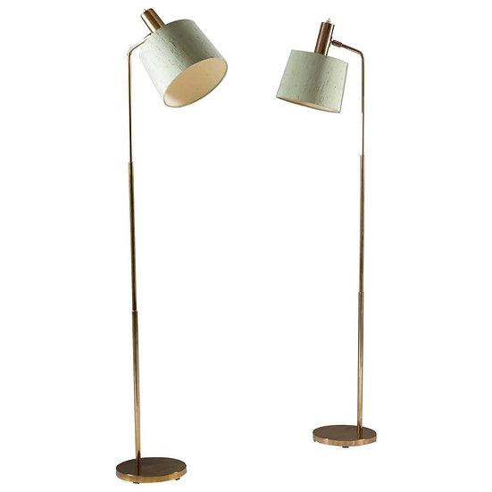 Scandinavian Midcentury Floor Lamps Model G-03 by Bergboms, Sweden