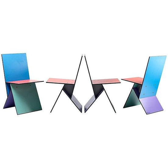 """Verner Panton """"Vilbert"""" Chairs"""