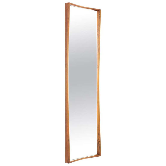 Midcentury Scandinavian Mirror by Rimbert Sandholt for Glas & Trä