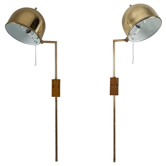 Wall Lamps by Bergboms