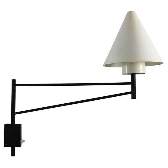 Scandinavian Midcentury Swivel Wall Lamp