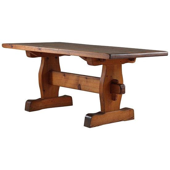Swedish Coffee Table in Pine, 1930s